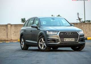 10 Audi Q7 Sharing its platform with the likes of the Porsche Cayenne, the full-size luxury crossover is the German manufacturer's flagship SUV offering in India. Featuring Audi's new design language and a 3.0-litre mill under the hood, the Q7 seals our list of the top 10 SUVs in the country.