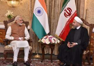 Following this, the two leaders had a 30-minute restricted meeting to discuss bilateral issues of strategic and business importance. Delegation-level talks followed it, leading to signing of agreements on development of Chahabar port on southern coast of Iran, setting up of an aluminium smelter plant and rail line.