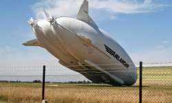 World's largest aircraft Airlander 10 - India Tv
