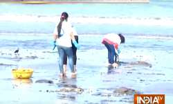 It took 85 weeks for the volunteers to clean the Mumbai's- India Tv