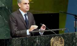 India's Permanent Representative to the UN Syed Akbaruddin
