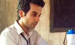Rajkummar Rao's look in Newton