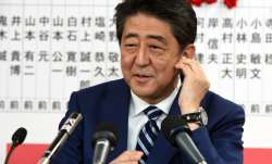 File pic of Japan Prime Minister Shinzo Abe