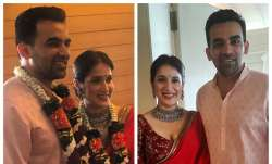 Zaheer Khan and Sagarika Ghatge- India TV