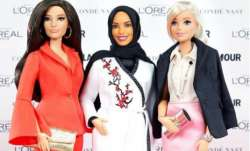 The hijab-clad Barbie doll.