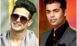 Karan Johar to launch Bigg Boss 11 contestant Priyank Sharma