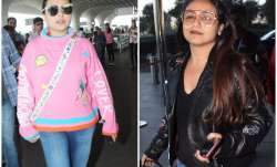 rani mukerji airport look
