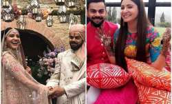 Inside videos, pics from engagement, mehendi and wedding of