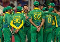 Pak cricket team