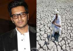 Riteish Deshmukh donates Rs 25 lakh for drought relief in