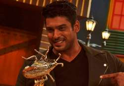Sidharth Shukla with Khatron Ke Khiladi trophy
