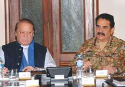 Nawaz Sharif and Gen Raheel Sharif