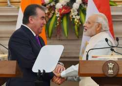 India, Tajikistan ink pact to step up anti-terror, defence