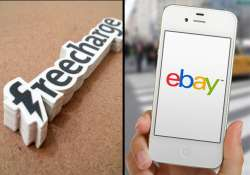 FreeCharge joins hands with eBay, now offers over 100