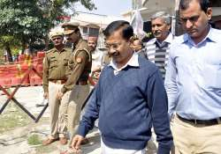 Shoe hurled at Arvind Kejriwal on New Year's Day