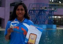 23-year-old national level swimmer Tanika Dhara committed