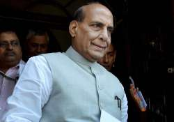 Rajnath Singh is among the frontrunners to become UP CM - India Tv