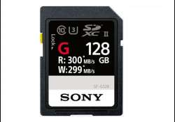 Sony launches 'world's fastest' SD card, super speed card