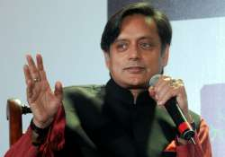 File pic of Congress MP Shashi Tharoor