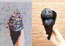 Black ice cream is a reality now! Check out some