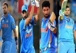 Kohli, Dhoni, Yuvraj, Raina in list of world's top 100