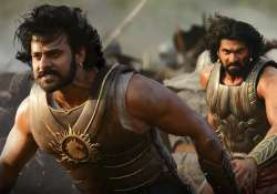 Prabhas and Rana Daggubati in Baahubali 2