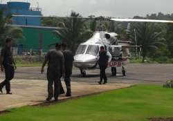 Fadnavis escaped a potential helicopter accident in Raigad- India Tv