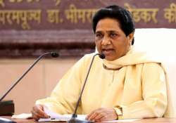 BSP to launch stir against 'anti-Dalit' stand of BJP,- India Tv