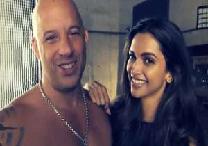 Deepika Padukone with Vin Diesel- India Tv