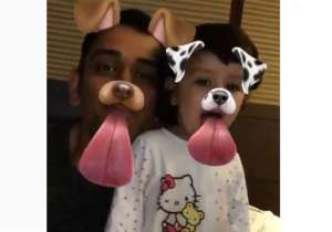 This Snapchat video of Dhoni with daughter Zia is an- India Tv