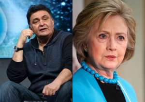 Rishi Kapoor's tweet on Hillary Clinton stirs controversy- India Tv