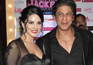 Shah Rukh Khan and Sunny Leone- India Tv