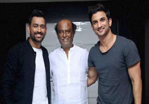 When Sushant Singh Rajput and our captain cool met- India Tv