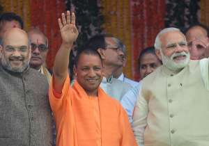 Yogi Adityanath has pledged to govern UP on PM's 'sabka- India Tv