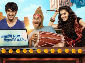 'Running Shaadi' review: Taapse and Amit Sadh's...