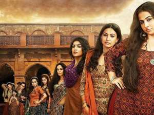 Begum Jaan Review: Vidya Balan with her women...