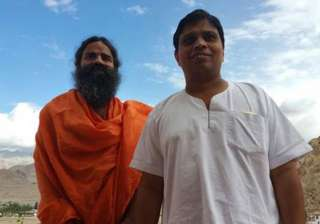 Acharya Balakrishna and Baba Ramdev have seen...