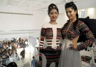 Sunny Leone feels honoured to walk the ramp with...