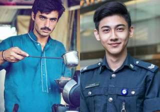 Blue-eyed Pakistani chaiwala and Singapore's...