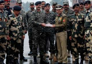 Indian, Pakistani forces, BSF, Republic Day