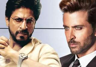 Shah Rukh Khan Hrithik Roshan - India TV