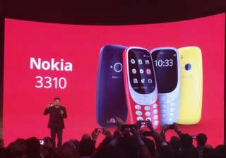 Nokia 3310 relaunched in four colours with iconic...