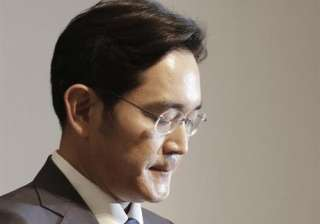 Samsung Electronics vice chairman Lee Jae-yong...