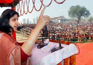 Samajwadi Party, Dimple Yadav, Kasab, UP Election - India TV