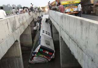 Andhra Pradesh: 7 dead, 30 injured as bus falls...