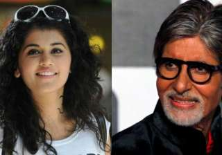 Amitabh Bachchan and Taapsee - India TV