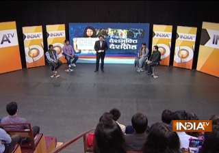 India TV debates nationalism and the...