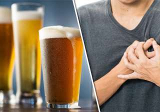Heavy drinking may increase heart disease risk in