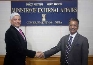 Gopal Baglay assumes charge as new MEA...