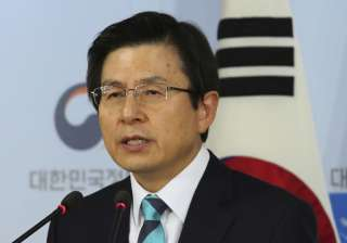 South Korean acting leader and Prime Minister...